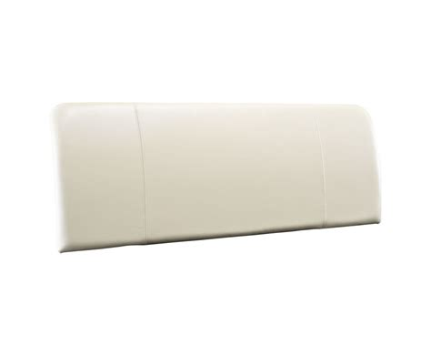 cream leather headboard king size bow cream genuine leather headboard