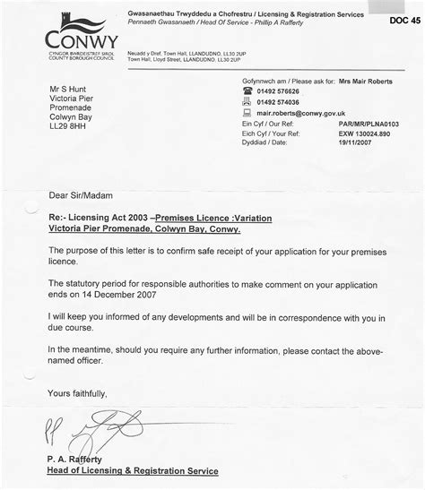 consent letter format for use of premises application letter to use premises south florida