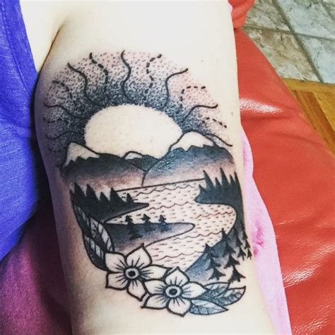 tattoo ideas river best 25 river ideas on compass drawing