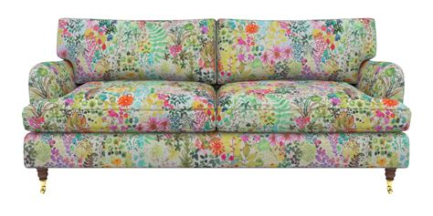 sofa flower sofa flower print brilliant traditional peach fl print