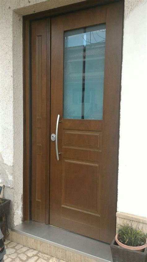 porte blindate con vetro antisfondamento realizzazione per porta blindata con vetro antisfondamento