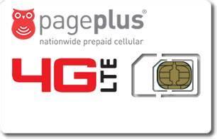 page plus sim card page plus 4g lte sim card