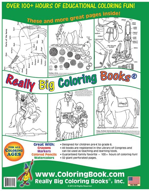 coloring books for cheap wholesale coloring books big book of horses