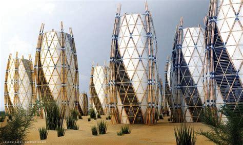 earthquake architecture bamboo housing for haiti laurent saint val evolo
