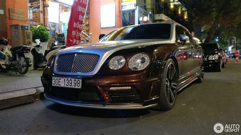 bentley continental flying spur black bentley wald continental flying spur speed black bison 6