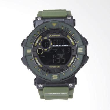 Eiger Jam Leschaux 4 0 Green jual eiger leschaux 4 0 jam tangan pria green