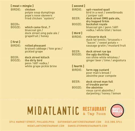 hosting a dinner menu midatlantic teaming up with dock brewery and