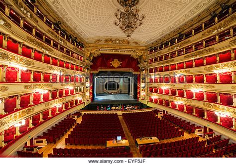milan opera house la scala milan interior stock photos la scala milan interior stock images alamy