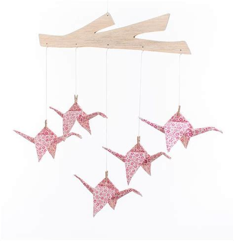 Origami Crane Mobile For Sale - origami baby mobile fabric origami crane baby
