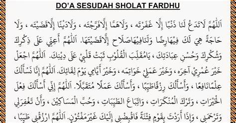 tutorial sholat dan bacaan do a sesudah sholat fardhu al habib abdullah bin alawy al