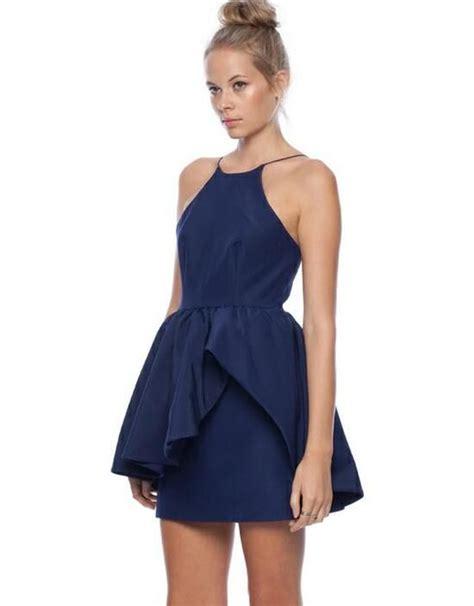 Blus Karmila Peplum s onesies peplum dresses australia and navy blue
