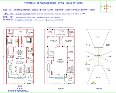 north facing floor plans per vastu vastu for house facing north plan house design ideas