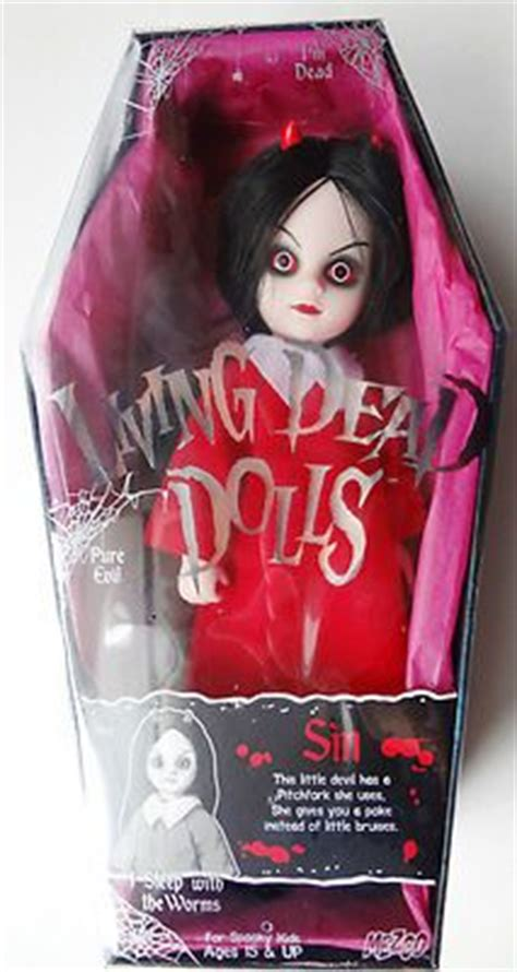 frozen living dead doll mint mezco living dead dolls series 5 siren by mezco toyz 74