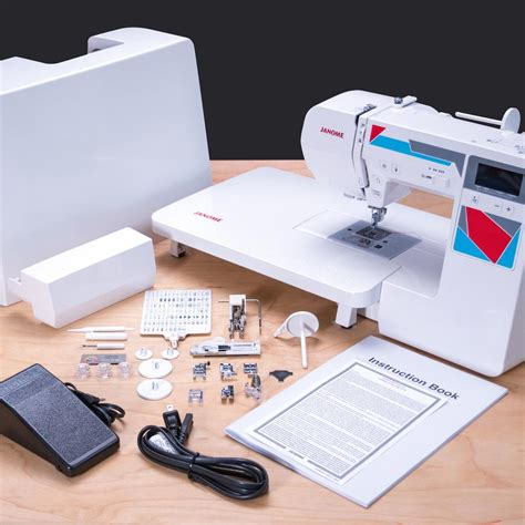 Quilting Accessories For Sewing Machines janome mod 100q quilting and sewing machine with bonus