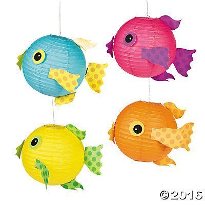 How To Make Paper Lantern Fish - best 25 fish lanterns ideas on fish
