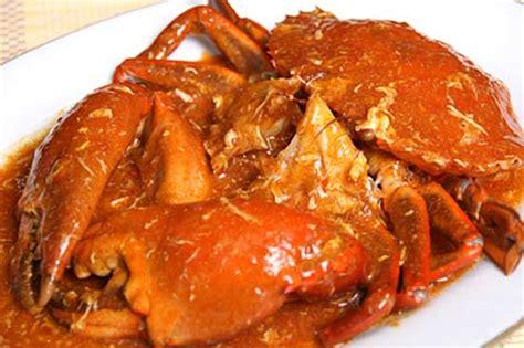 resep bumbu masak   membuat kepiting saus padang