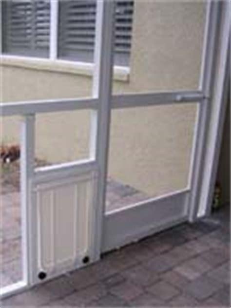 Pet Door For Screen Patio Door by Doors And Pet Doors For Porch Installations