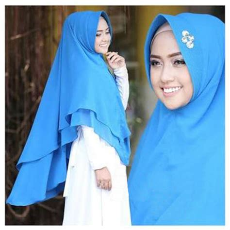 Jilbab Syar I Dari Belakang model terbaru 2018 jilbab syar i khmar ellya bundaku net