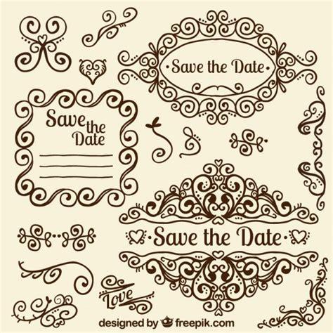 cute wedding decoration vector free download ornamental wedding decoration vector premium download