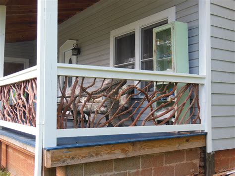 porch railings from cherokee nc deck railing ideas