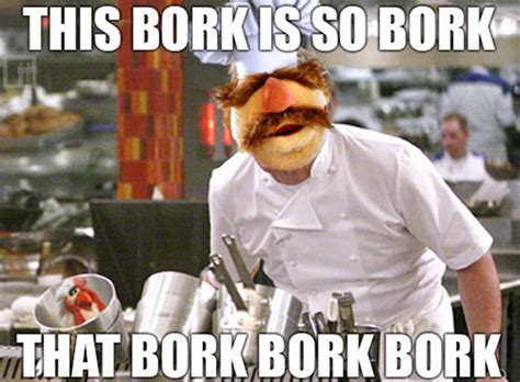 Swedish Chef Meme - swedish chef ramsay collegehumor post