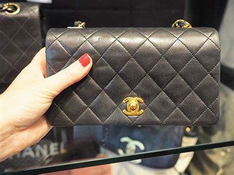 Tas Chanel Boks designer vintage in amsterdam 201 toile de honor 233