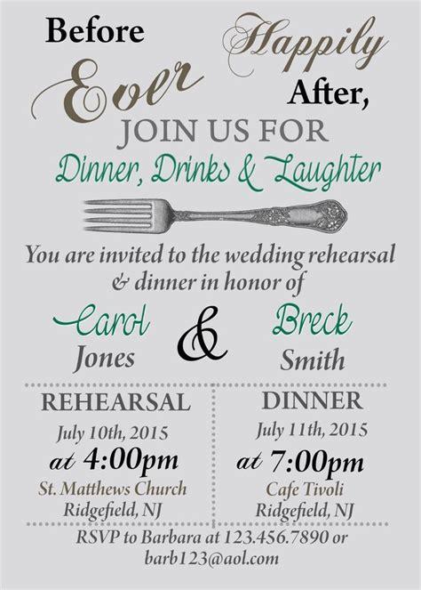 invitations for a wedding rehearsal dinner details about rehearsal dinner invitation bridal shower