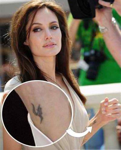 angelina jolie iranian tattoo la tatouages d angelina jolie et leurs significations