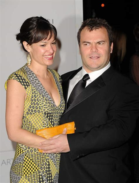 jack black married tanya haden jack black s wife photos who he s married to
