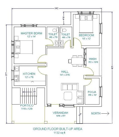 double bedroom independent house plans modern home plan home design plans home plans acc