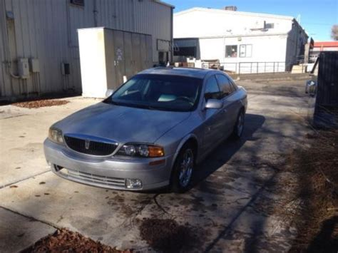 find used 2001 lincoln ls sport sedan rare v6 5 speed manual in prescott valley arizona united