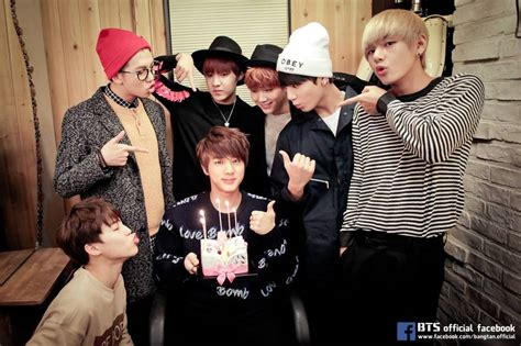 bts birthday bts and fans celebrate oldest member jin s 23rd birthday
