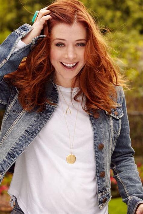 Style Alyson Hannigan by Alyson Hannigan Hair Color Hair Colar And Cut Style