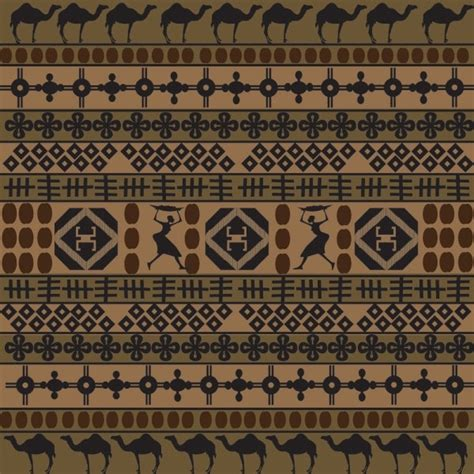 african pattern vector download free african traditional pattern background 02 vector free