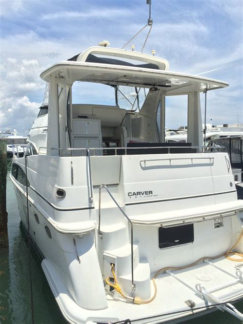 carver motor boats carver boats 396 motor yacht boat for sale from usa