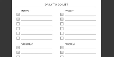 weekly priorities template every to do list template you need the 21 best templates