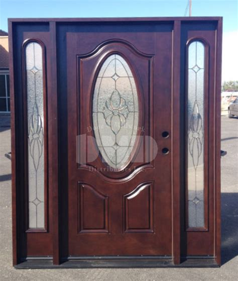 Exterior Doors Wholesale Mahogany Exterior Fiberglass Door M640 Dmd Chicago Door And Millwork Distributors Inc