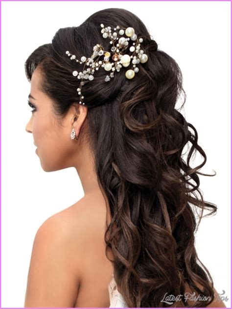 Wedding Hairstyles No Curls by Bridal Hairstyles Half Up Half Curls