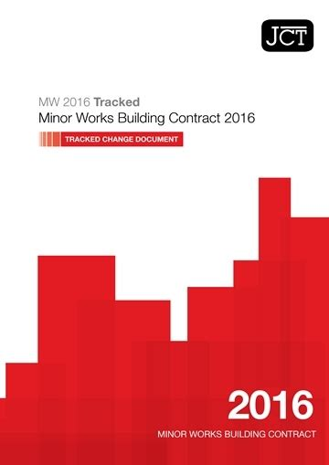 how do design and build contracts work jct tracked change