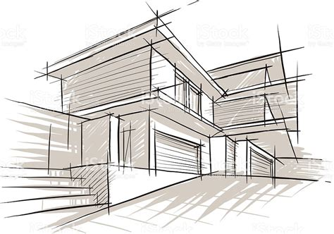 Free Architectural House Plans sketch of architecture stock vector art 524513963 istock