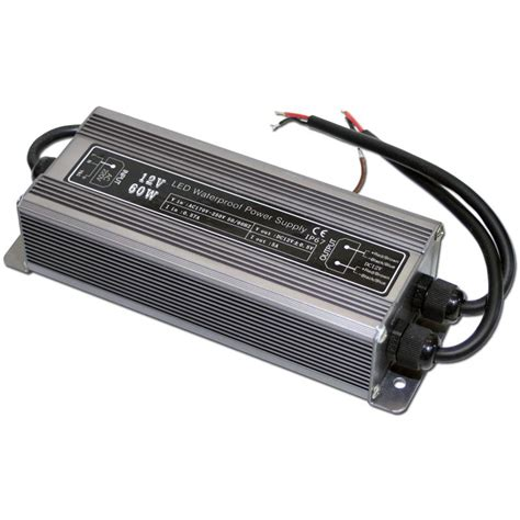 Trafo Led led transformer 60w driver 12v dc ip67 trafo