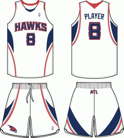 desain jersey nba terbaik atlanta hawks home uniform national basketball
