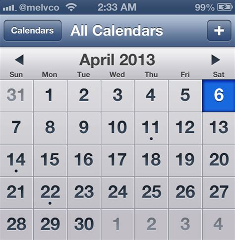 Calendar App Best Calendar App Ios Calendar Template 2016