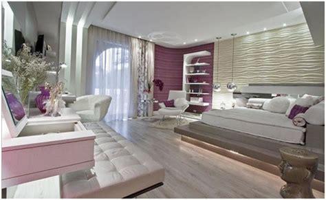 Purple And Beige Bedroom For Women Bedroom Decorating Ideas Bedroom Ideas For Teenage Girls Purple