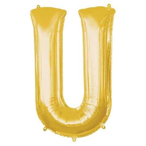Silver Foil Balloon U silver letter m supershape foil helium balloon 83cm