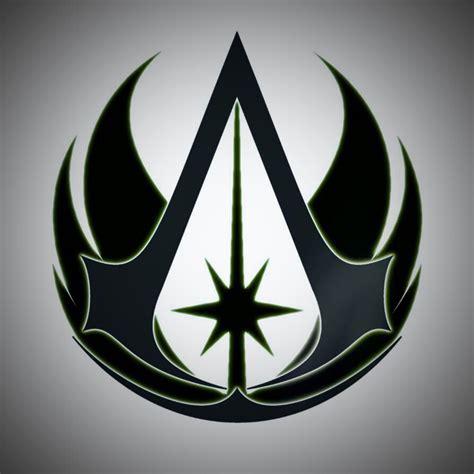 tattoo star logo jedi assassins creed logo star wars pinterest