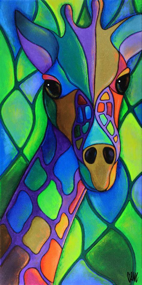imagenes abstractas juveniles mi cuello colorido de los bosques