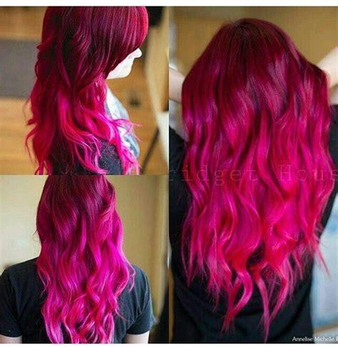 fuchsia hair color 25 best ideas about fuschia hair on