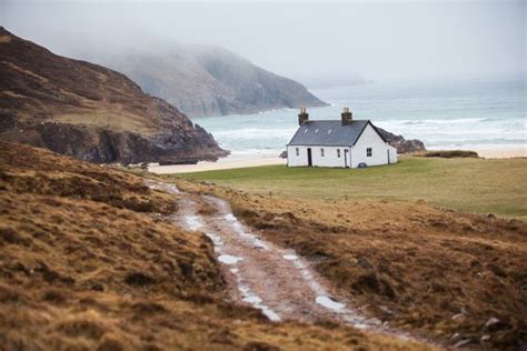 Remote Cottages By The Sea scotland cottages by the sea and cycling on