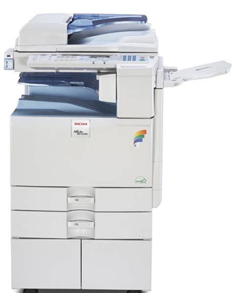 Mesin Fotocopy Ricoh Aficio ricoh aficio mpc 2030 dunia fotocopy